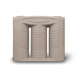 OW 2,000 litre polyethylene rainwater  tank - slimline