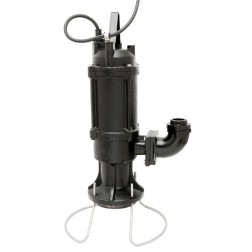 GS-150 heavy duty 2 HP sewage positive displacement grinder pump - automatic