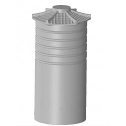 OW 1,000 litre polyethylene rainwater  tank - fully configured