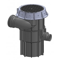 STORM_save2 point of capture pipe inlet stormwater seperator with integrated first flush diverter