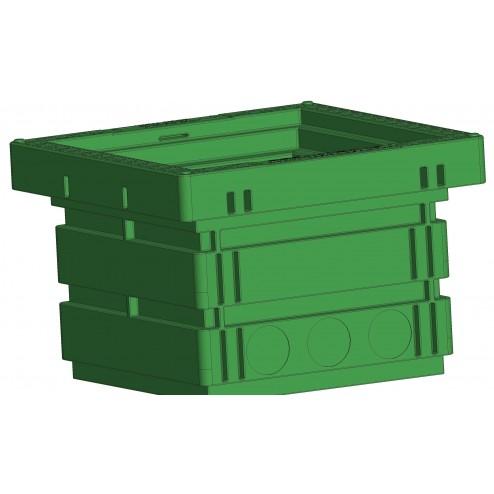 Ecov tank valve box 700x700x600