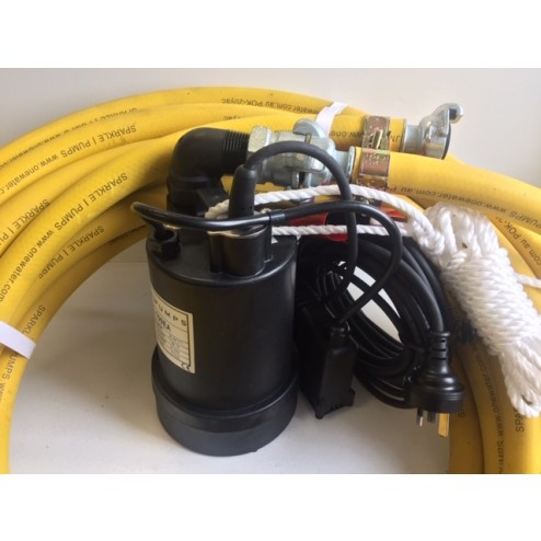 BPS utility pump and hose package