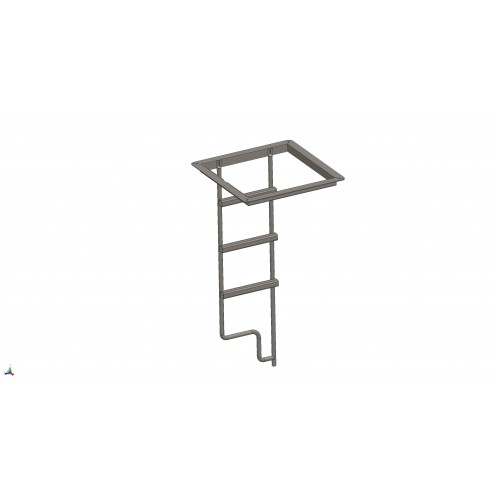 SPARKLE Ecov top rail frame and ladder assembly 1300 series - 2 M