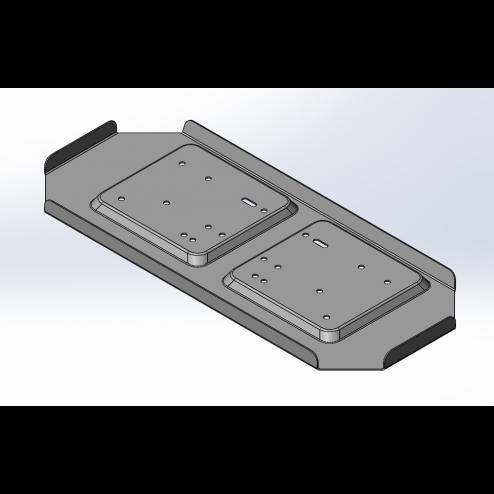 POK tank base pump plate 1300 series