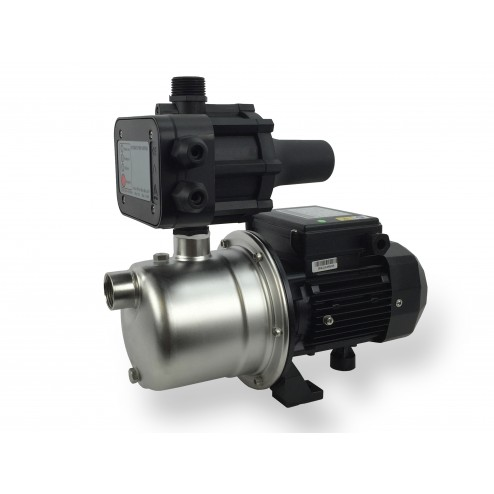 Pressure Pump SJP 0.5 hp 375 watt stainless steel - with reset press control 1.5 Bar