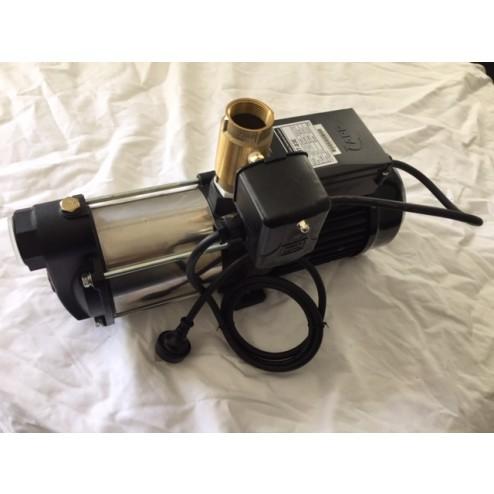 Pressure Pump 1.5hp 1100 watt multi-stage stainless steel with pressure switch control