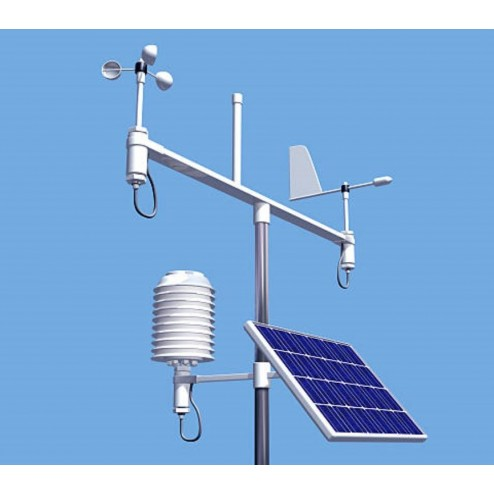 SparkleAir remote power weather station