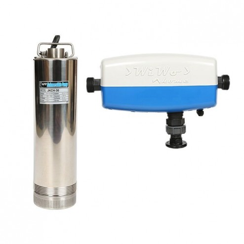 Pressure Pump JKCH multi-stage submersible 600 watt stainless steel - with WiWo_home