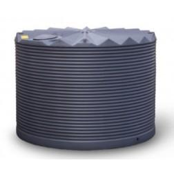 OW 10,000 litre polyethylene rainwater  tank - round