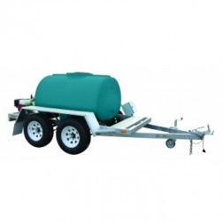 Packaged Water Cartage - water cart -  portable water supply trailer mounted