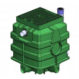 SPARKLE Storm OSD 1500 litre on site retention/detention Access Cover - Class A keylock option