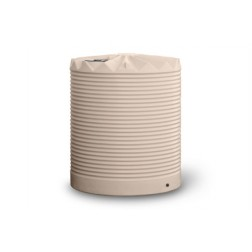 OW 4,500 litre polyethylene rainwater  tank - round