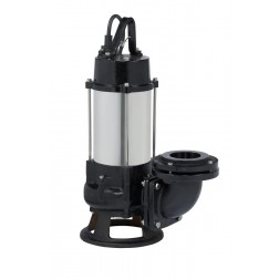 Submersible Sewer Pump - 2 HP DSK series 75mm sewage cutter pump - automatic