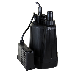 Submersible Pump BPO - 25mm discharge 3mm 'puddle sucker' low level auto pump