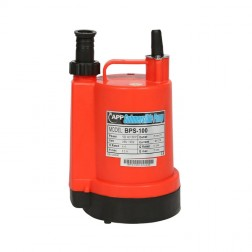 Submersible Pump BPS - 1/6 HP 25mm 'puddle sucker' drainage pump - manual
