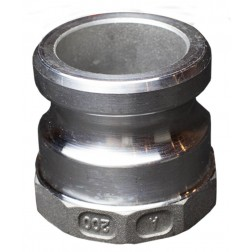 "POK Camlock 100mm 4"" socket NPT Al type A"