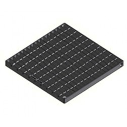 ECOV access cover - pedestrian loading 600x600mm grate 10Kn Class A - galvanised steel