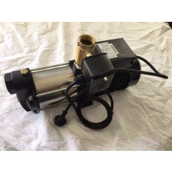 Pressure Pump 1.5hp 1100 watt multi-stage stainless steel with pressure switch control