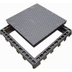 ECOV access cover - wheel loading 600x600mm 80Kn Class B - gatic