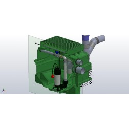 Packaged Sewer Pump Station -  transfer gravitational sewage - selectable configuration