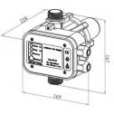 Pressure Controller Dimensions