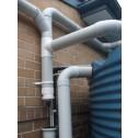 External First Flush Diverter